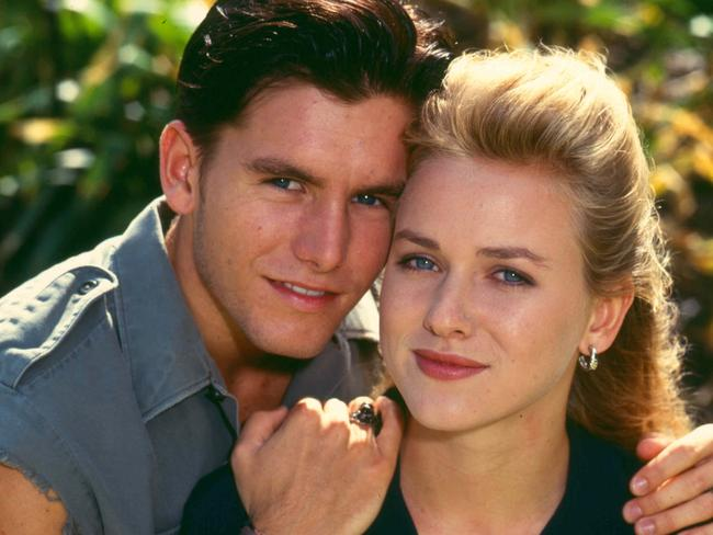 Naomi Watts had a brief stint on  <i>Home and Away</i>. Picture: News Corp Australia