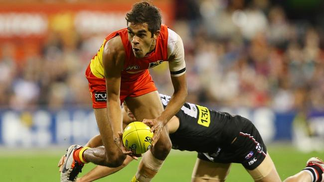 Jack Martin played an outstanding game for the Suns.
