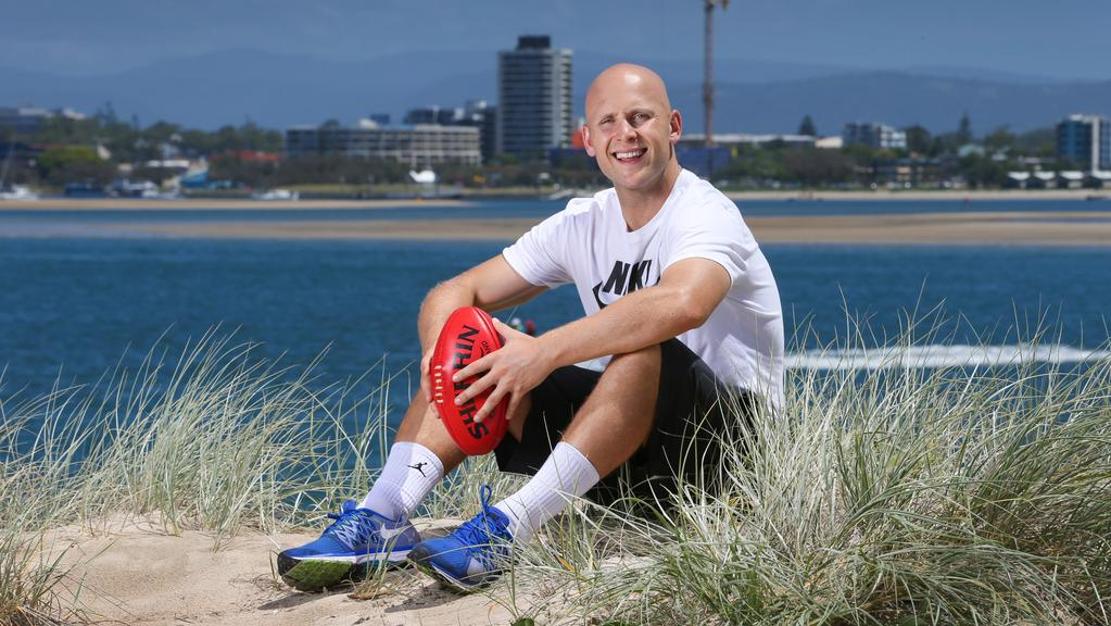 Footballer Gary Ablett Jnr on the Gold Coast. Picture: NIGEL HALLETT
