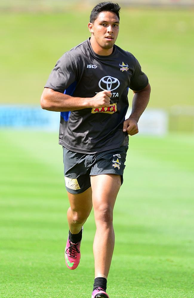 Curtis Rona has impressed at Cowboys training. Picture: Evan Morgan