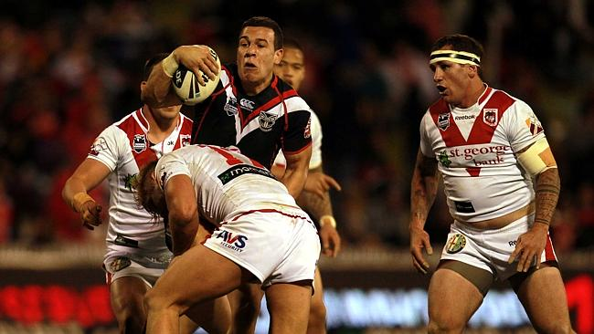 Carlos Tuimavave for the Warriors.