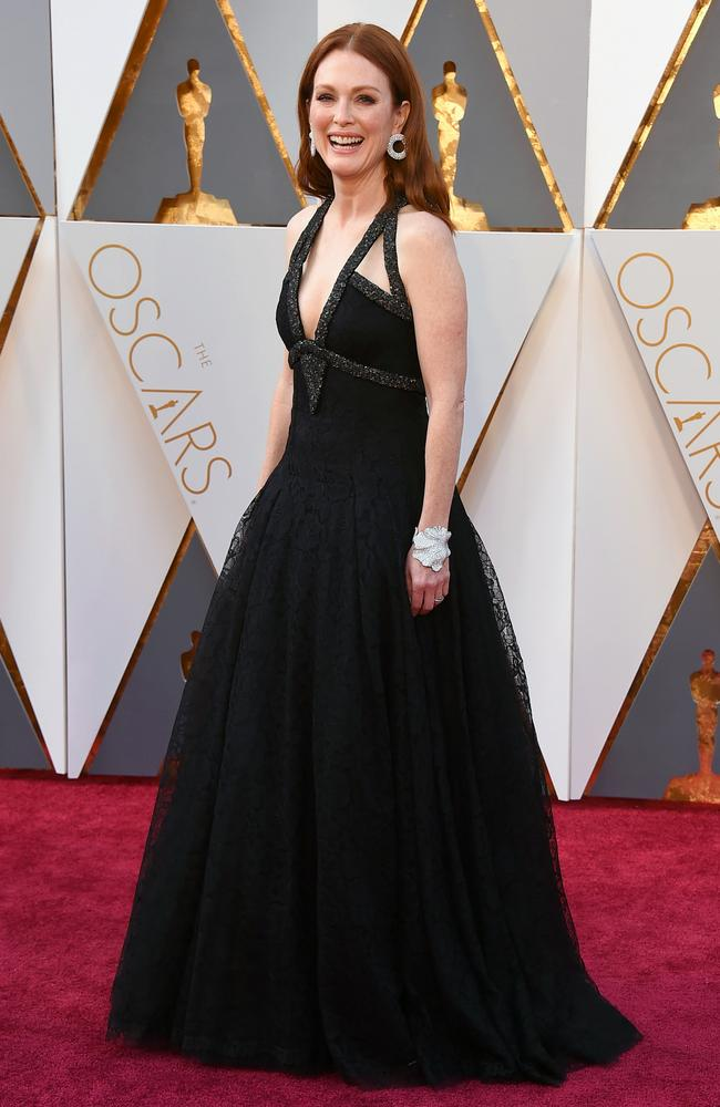 Julianne Moore attends the 88th Annual Academy Awards on February 28, 2016 in Hollywood, California. Picture: AP