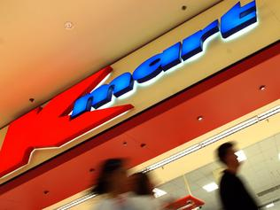 Generic photo of customers outside Kmart at Broadway Shopping Centre in Sydney.