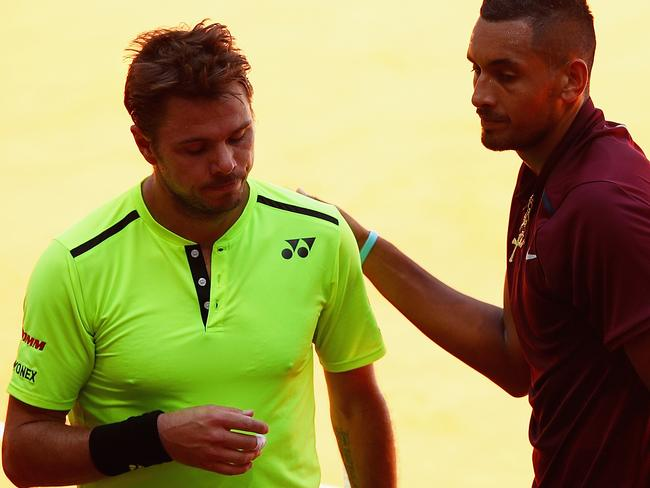 Kyrgios tweets moving tribute after big Stan win