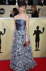 Actor Kimiko Glenn attends the 24th Annual Screen Actors Guild Awards at The Shrine Auditorium on January 21, 2018 in Los Angeles, California. Picture: Frederick M. Brown/Getty Images/AFP