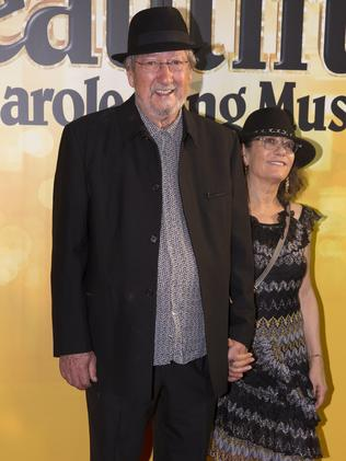 Michael Caton and his wife is Helen Esakoff. Picture: Jenny Evans