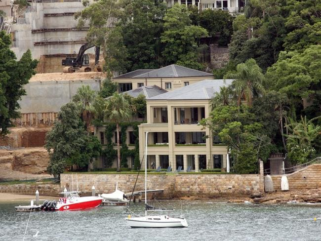 Sydney to Hobart winner Neville Crichton's Point Piper house broke a record when it sold for $60.8m in late 2016..