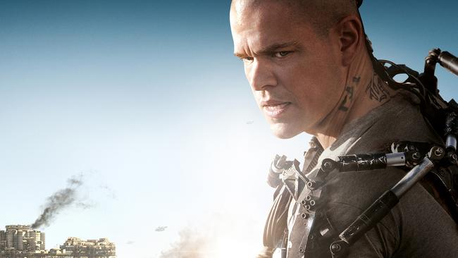 Elysium star Matt Damon has a Presidential alias.