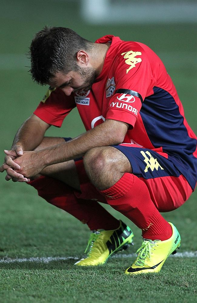 A lot of Adelaide players would have felt like this on Saturday night.