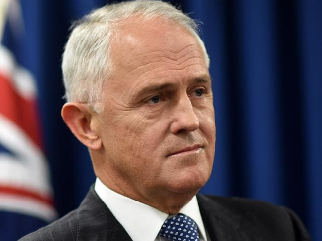 The campaign will Prime Minister Malcolm Turnbull. Picture: Lukas Coch/AAP