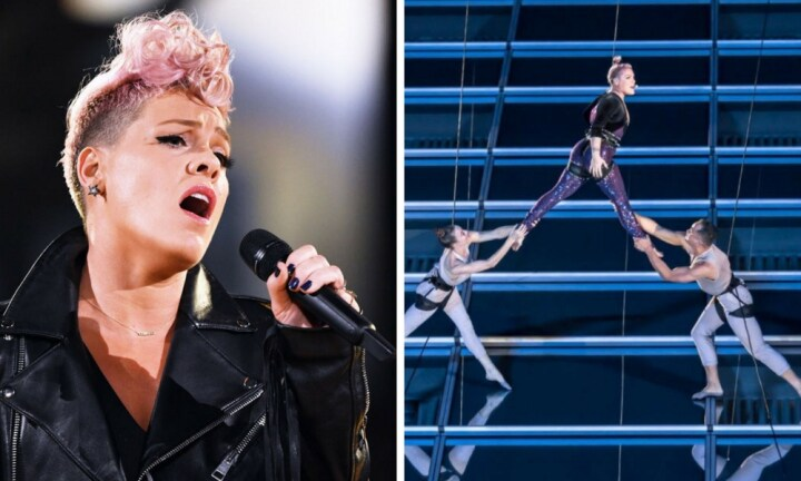 Pink just gave the performance of her career
