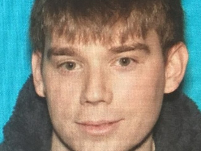 Travis Reinking is wanted in connection with the shooting. Picture: Supplied
