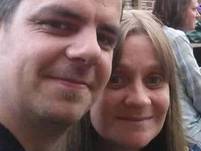 Paul and Alison Rough were married two weeks ago. Picture: Supplied