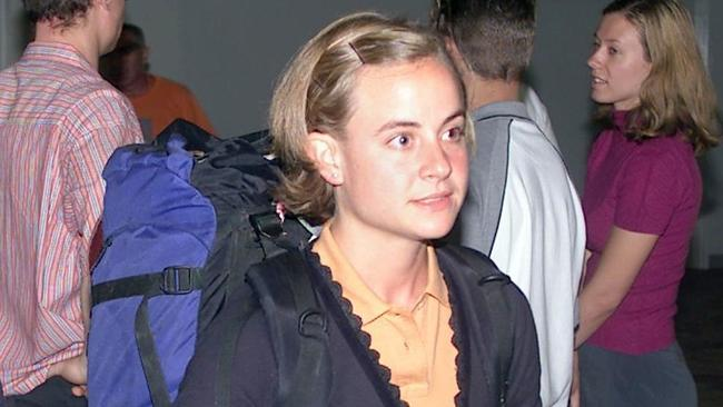 Isabel von Jordan at Darwin Airport.
