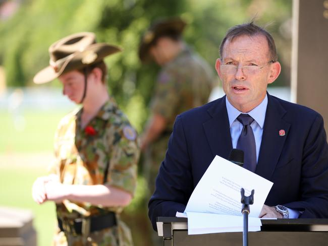 Tony Abbott wants greater protections if the Yes campaign is successful. Picture: AAP/ Ryan Osland