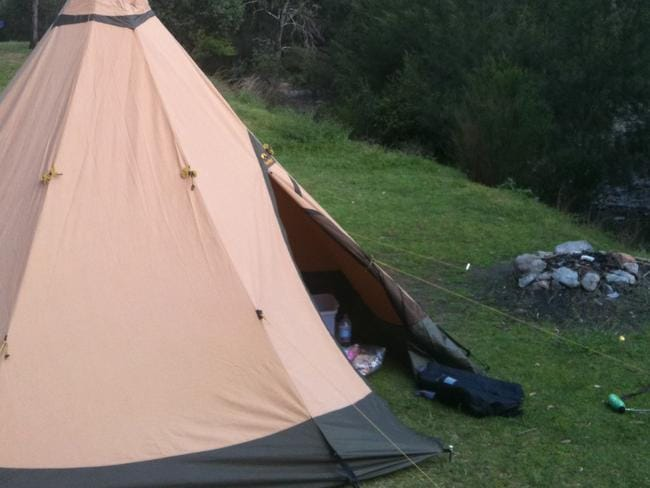 'It was a nightmare camping trip'
