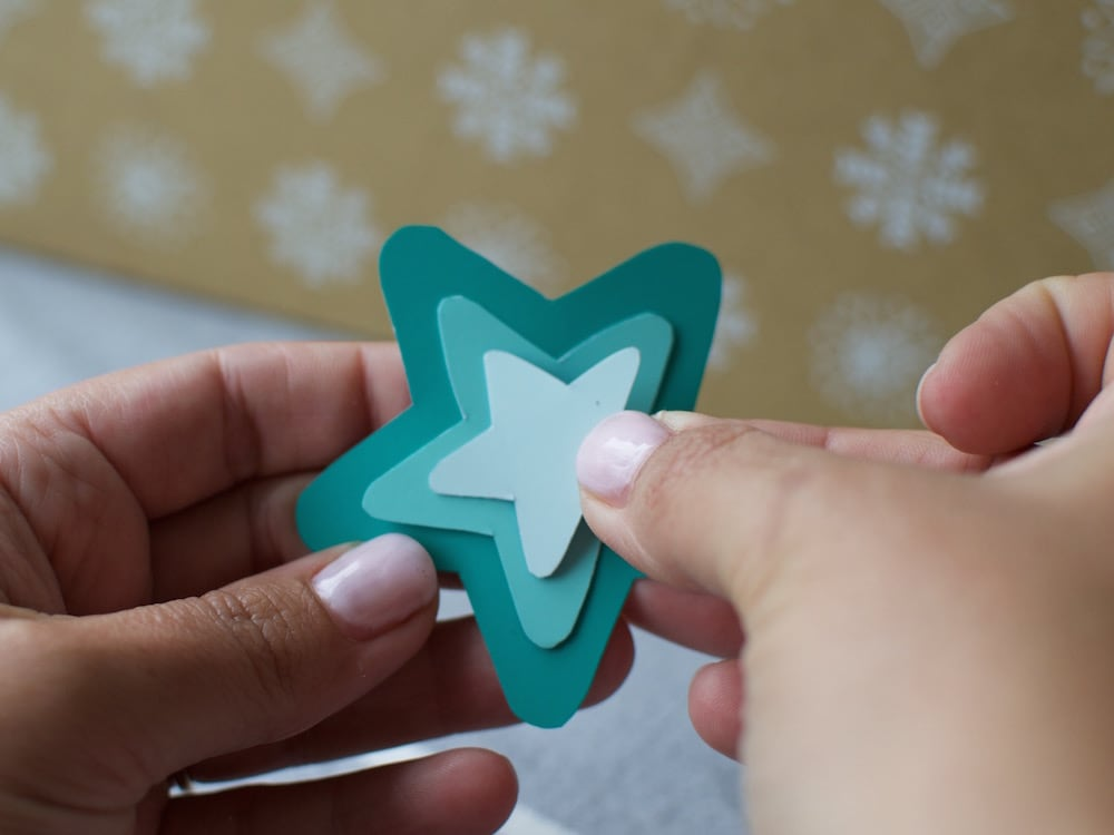 Paper Star Christmas Decoration