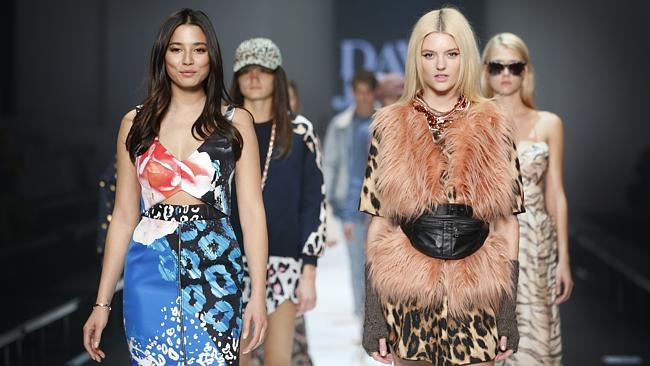 from prints to faux fur, it was a melting pot of trends. Picture: David Caird.