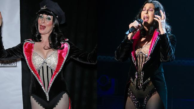 Cher wouldn't believe in love after seeing this fan's costume.