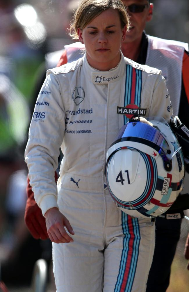 Scottish driver Susie Wolff.