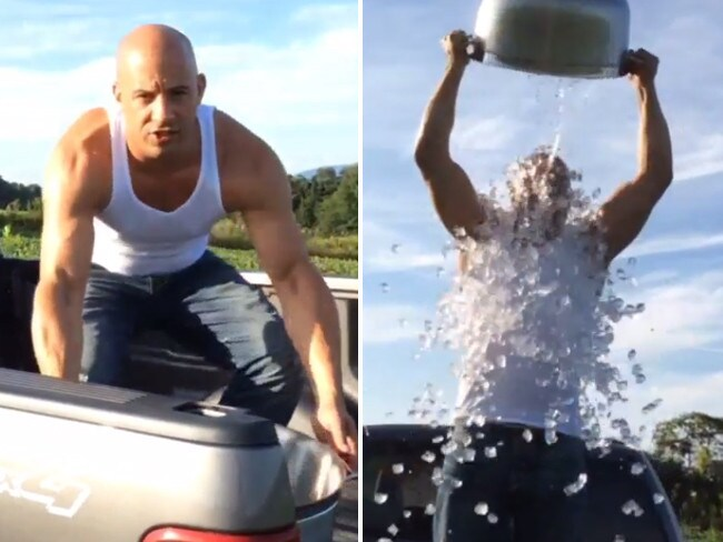 "Actor Vin Diesel, ""I challenge the First Lady, Angelina Jolie... and Putin!!! Grrr... #Vinstagram""... VIEW VIDEO Picture: Instagram"