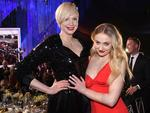 Gwendoline Christie and Sophie Turner attend the 23rd Annual Screen Actors Guild Awards Cocktail Reception at The Shrine Expo Hall on January 29, 2017 in Los Angeles, California. Picture: Getty