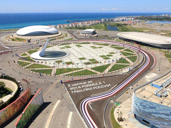 Work on Sochi is progressing well ahead of it's maiden F1 race.