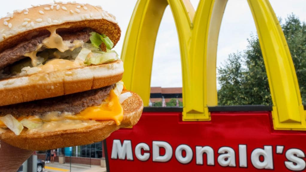 Internet users wanted to know how many calories are in a Big Mac. Picture: AFP