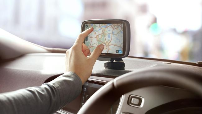 In the time before smartphones and Google Maps, TomToms were the preferred car navigation systems. Picture: Supplied