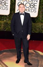 Jonah Hill attends the 73rd Annual Golden Globe Awards held at the Beverly Hilton Hotel on January 10, 2016 in Beverly Hills, California. Jason Merritt/Getty Images/AFP