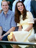 Prince William and The Duchess of Cambridge enjoy an afternoon at Taronga Zoo in Sydney. Photo Jeremy Piper