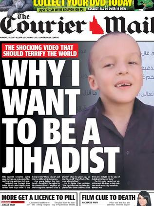 The front page of August 11.