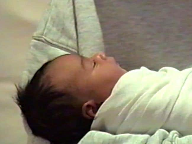 Chicago West made her debut in Kylie Jenner's baby announcement video. Picture: Kylie Jenner