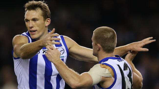 North Melbourne forward Drew Petrie key to Kangaroos chances. Picture: Getty