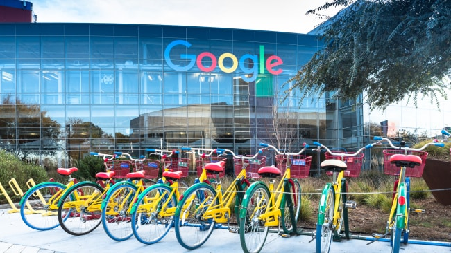 Former Google employee Loretta Lee is suing the tech giant for gender discrimination. Image: Getty.