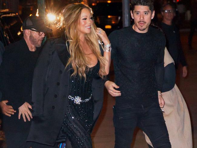 Mariah Carey with her new beau Bryan Tanaka. Picture: Splash