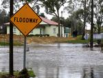 Flooding of the North Para River in the Barossa. Picture: Dean Martin
