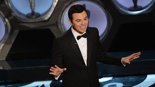 Seth MacFarlane hosted the Oscars in 2013.