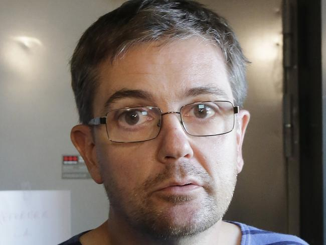 Bold ... Charbonnier, known as 'Charb', had been living under police protection. Picture: AP Photo/Michel Euler