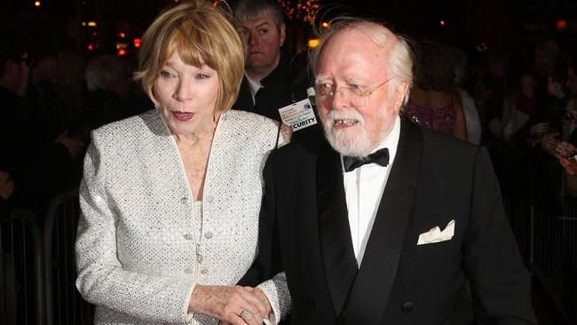 Director Richard Attenborough and Shirley MacLaine in 2007.