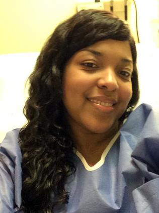 In good health ... Amber Vinson is also Ebola free. AP Photo/Amber Vinson.
