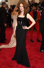 """Julianne Moore attends the Met Gala 2015 """"China: Through The Looking Glass"""". Picture: Getty"""