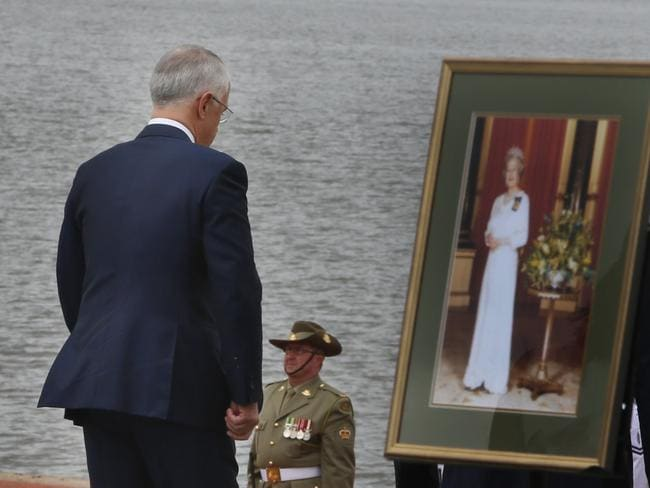"""When he lost the 1999 referendum, Mr Turnbull said the monarchist PM of the time John Howard had """"broken our hearts"""" / Picture: Gary Ramage"""