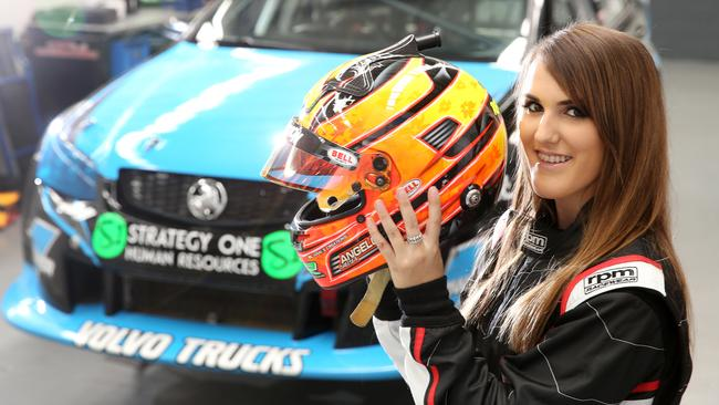 V8 Supercars 19 Year Old Chelsea Angelo Will Ditch P
