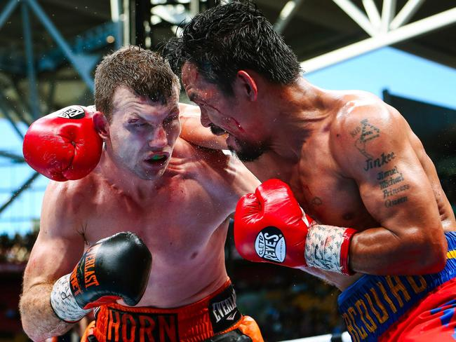 Jeff Horn inspired Leapai to return to boxing.