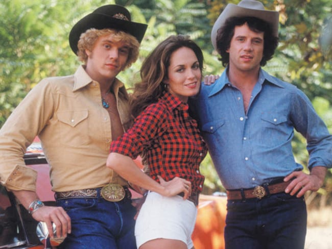 Back in the day we used to ogle Daisy Duke all at the same time.