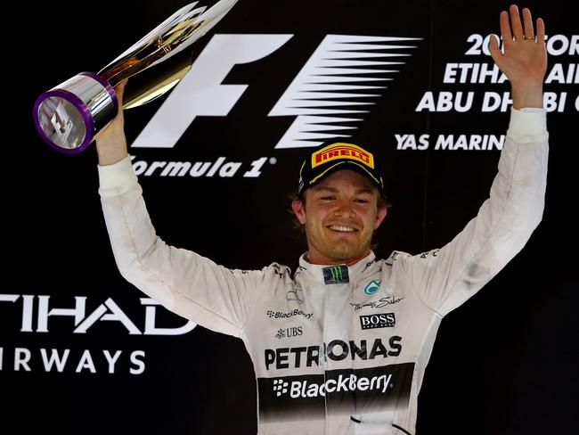 Rosberg rounds off year with third win in row