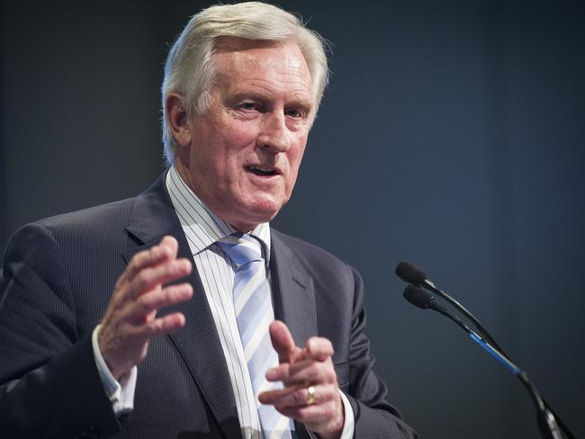 John Hewson warns Australians to look at which companies their superannuation is invested in. Photo: Eugene Hyland
