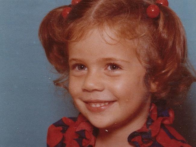 Kathleen Folbigg, who has been charged with murdering four of her children, pictured as a child at age three.