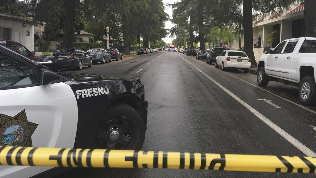 California shooting three dead as gunman opens fire in for Fresno bee fishing report 2017